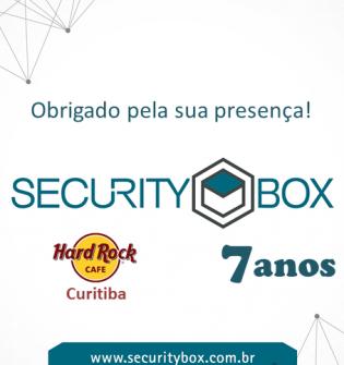 Evento de 7 anos Securitybox!
