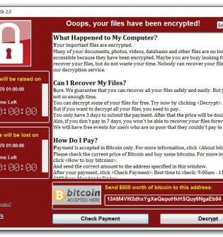 O que você precisa saber sobre o WannaCry Ransomware